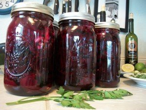 b5 Making Pickled Beets