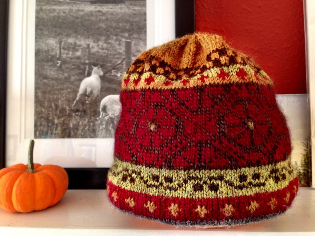 small hat 1024x768 More Fair Isle Knitting