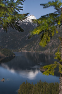 Ross Lake is one of the power generating lakes of Seattle City Light.